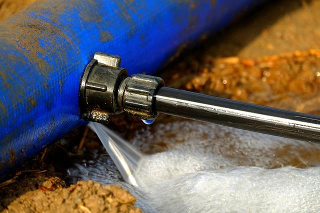Rechercher une fuite d'eau