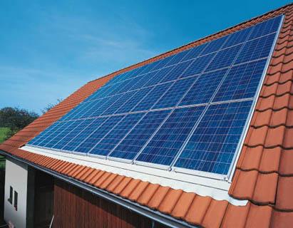 chauffe eau solaire toit