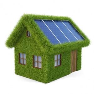 panneau solaire sur toit